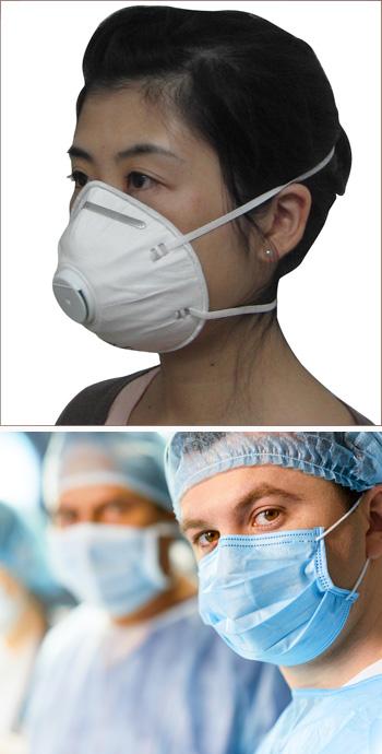 N95 y máscaras hospitalarias