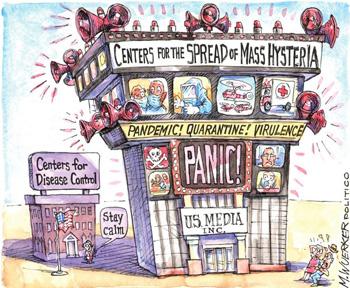 Los medios propagan el pánico