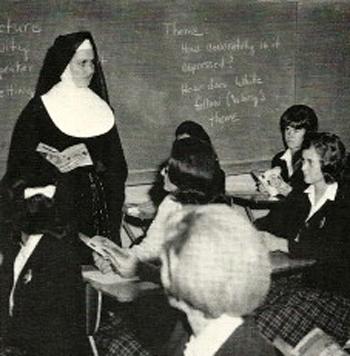 teaching sister St. Joseph