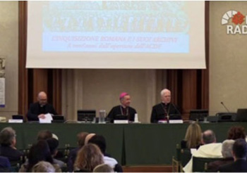 Panel of the inquisition congress at the Vatican