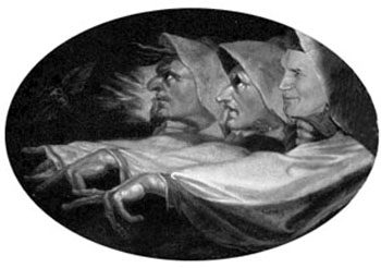 satire of John Paul II pointing fingers at the inquisition