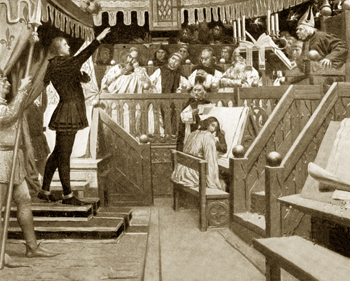 Joan of Arc on trial