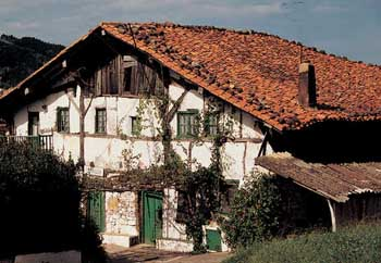 basque farm house