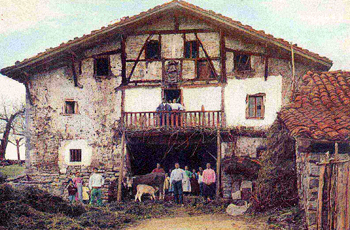 Basque famr house