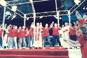 JPII dances with youths