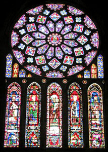 The Rose Window of Chartres