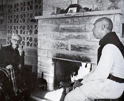 Jacques Maritain and progressivist monk Thomas Merton
