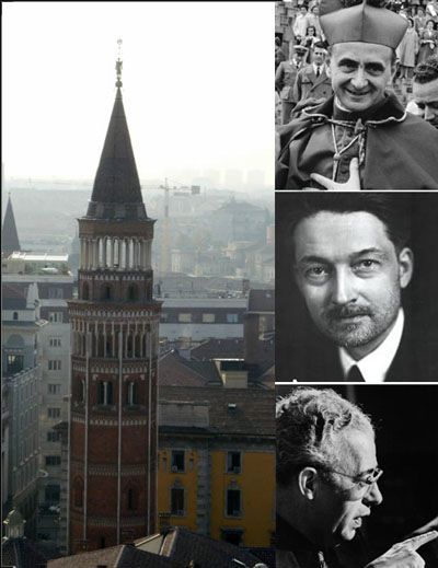 Montini was counseled by Alinsky and Maritain in Milan