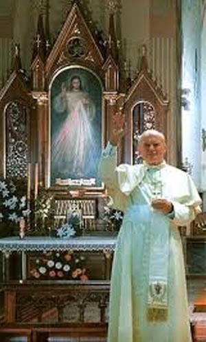 John Paul II endorses the divine Mercy devotion