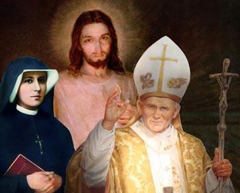Faustina, John Paul II, and the divine Mercy devotion
