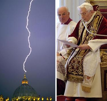 resignation lightning