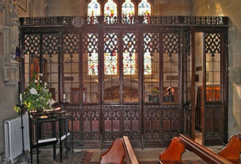 screen chantry chapel
