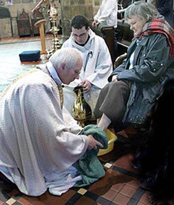 anglican foot washing