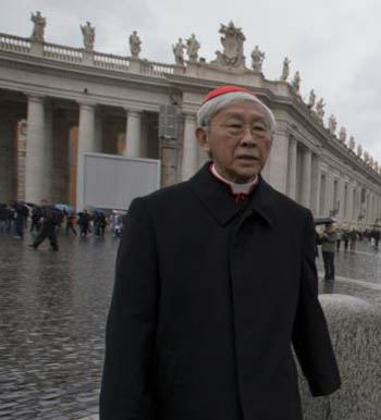 cardinal Zen in the Vatican