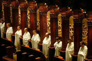 a choir Clerics