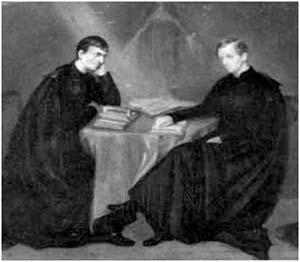 Newman con Ambrose St. John