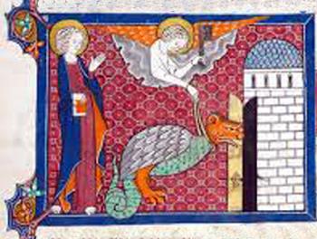 Ángel ata al diablo por 1000 años