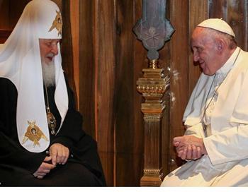 pope francis patriarch kirill