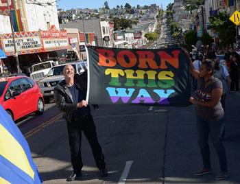 born gay