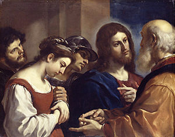 christ admonishes the sinner