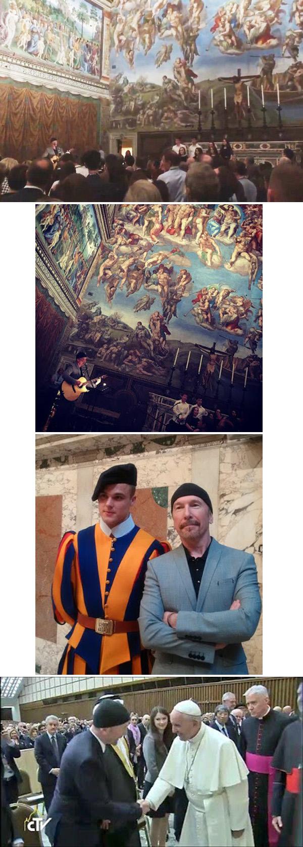 Rock in Sistine Chapel 02