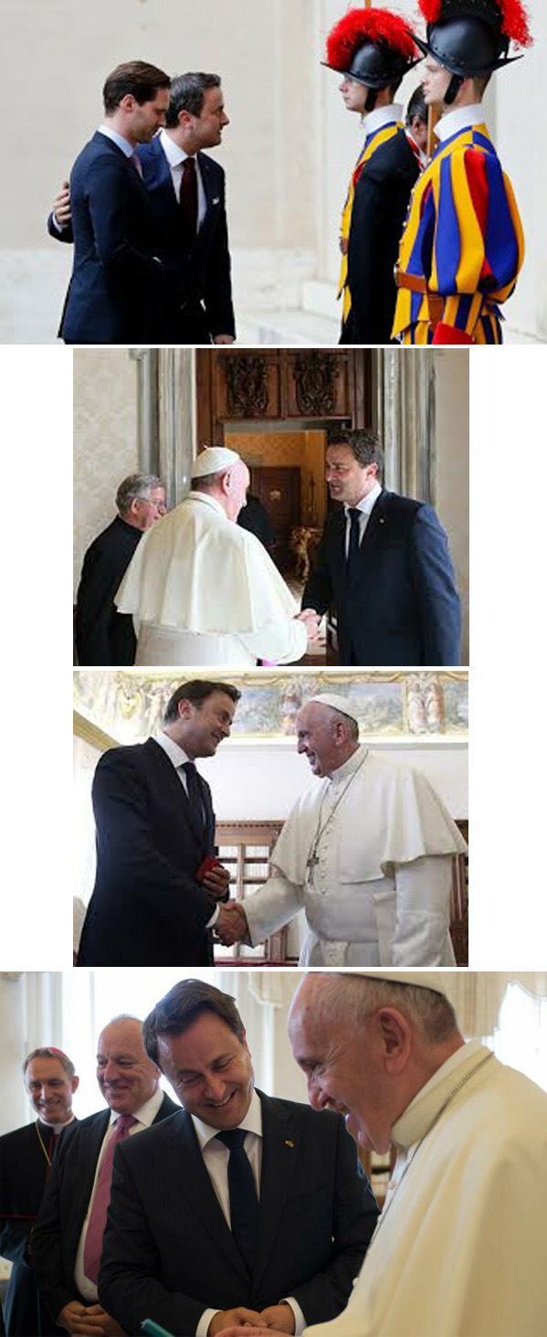 Homosexual couple received at the Vatican 2