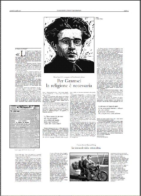 L'Osservatore Romano praises Gramsci -3