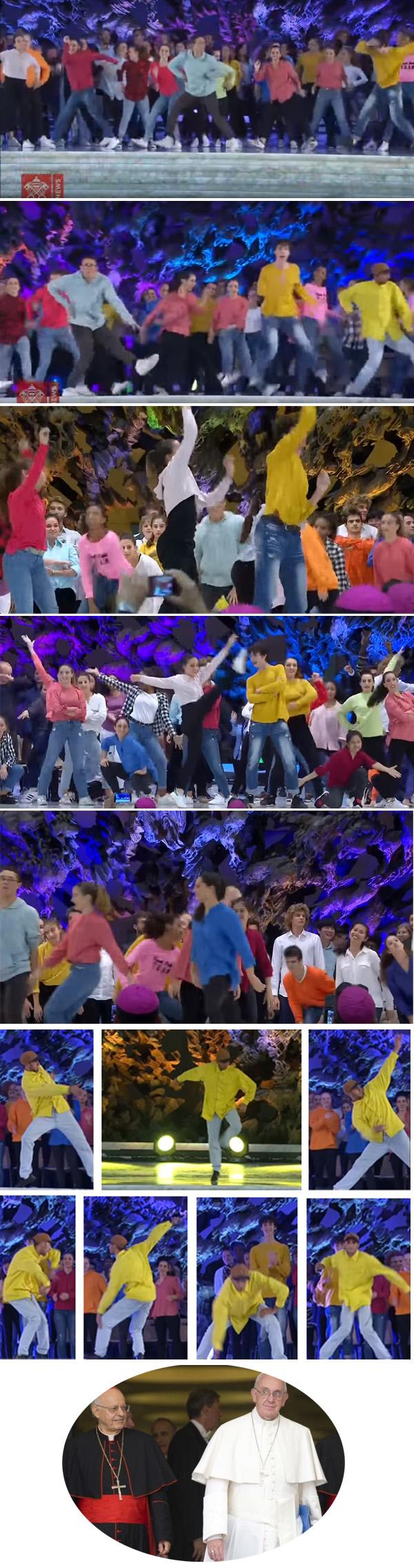 Bailando en el Sínodo Juvenil -1