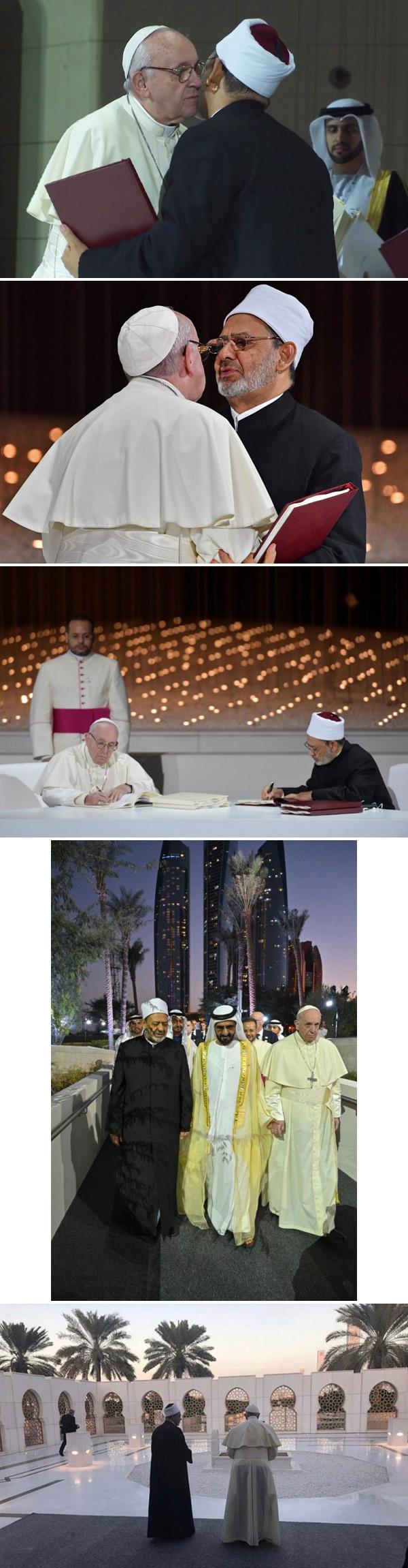 Francis visita Abu Dhabi 2