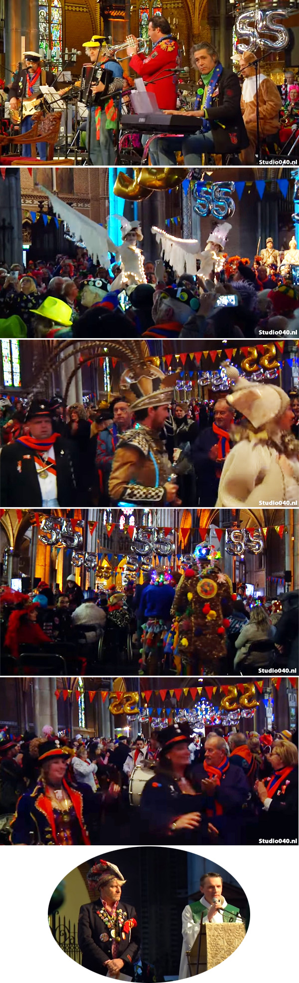 Carnaval en una iglesia católica Duthch 2