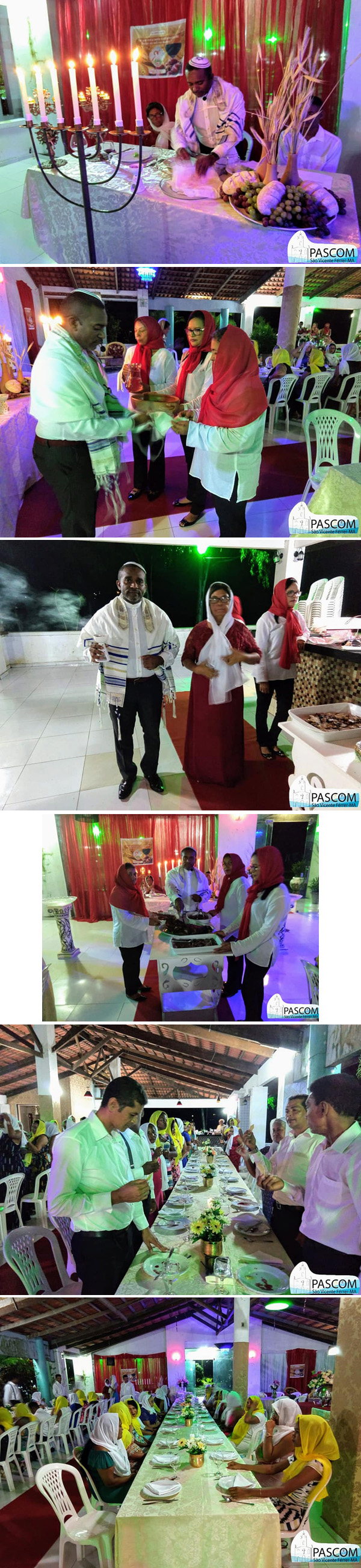 Ceremonia católica judía - Passah 2