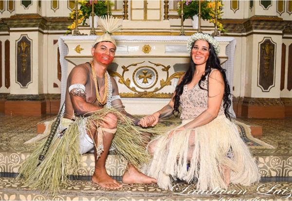 Matrimonio indio Brasil 1