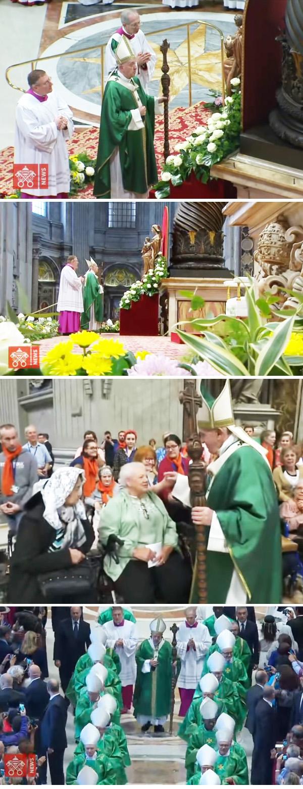 Francis with an idolatrous staff 3