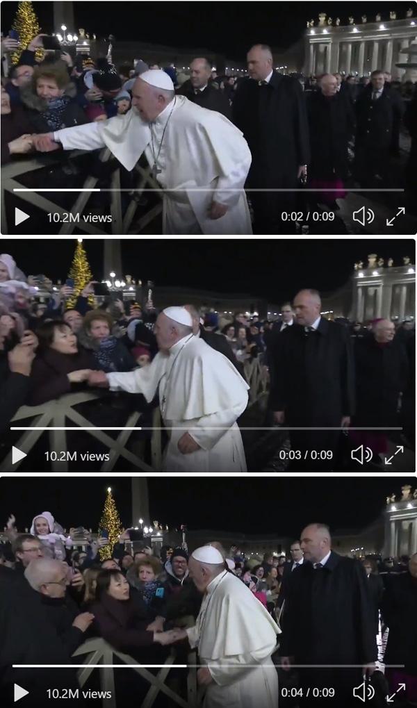 Bofetadas papa 4