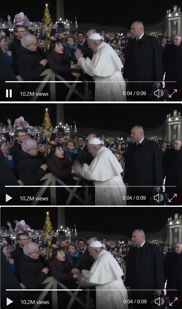 Bofetadas papa 5