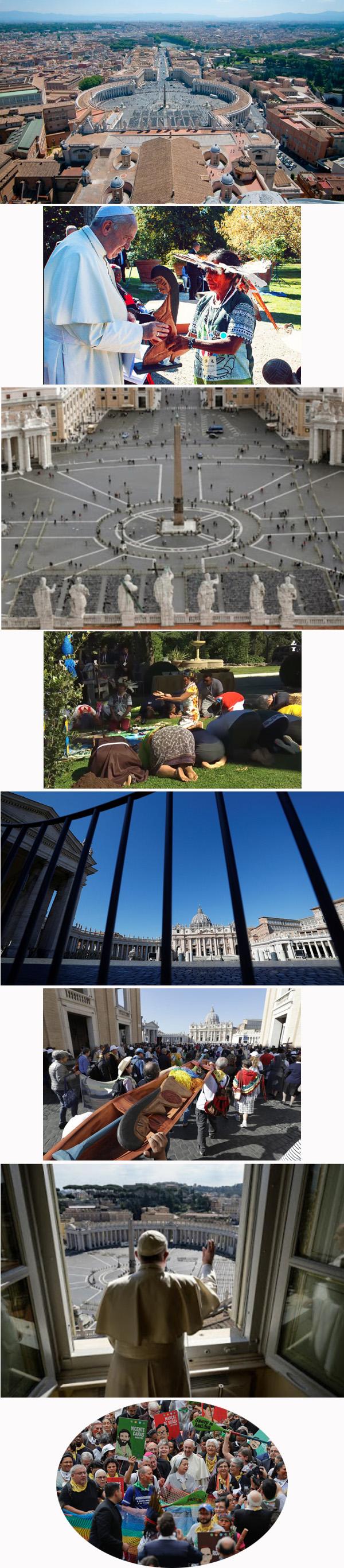 ¿El Vaticano vacío es causado por un castigo?