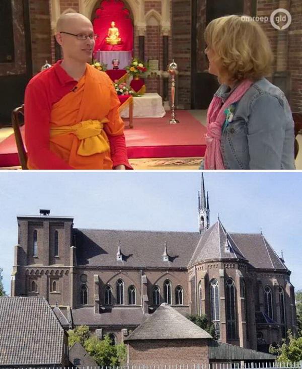 Iglesia católica vendida a budistas en Holanda 2