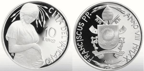 Monedas del Vaticano Moneda Pachamama