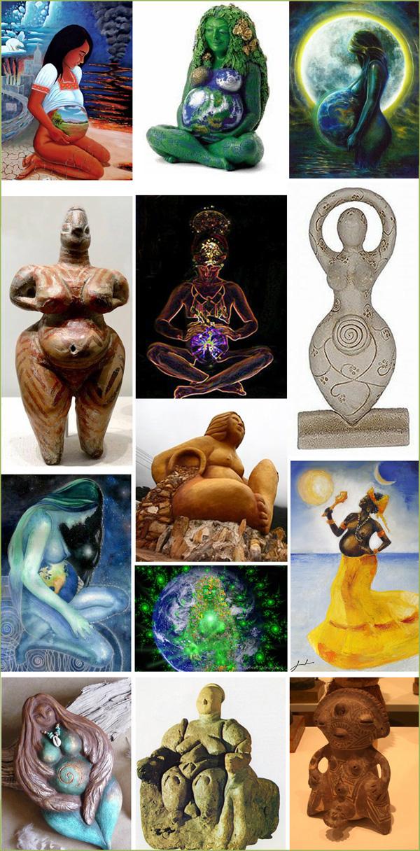 Diosas de la fertilidad y la Madre Tierra