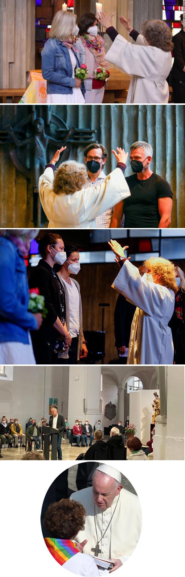 La iglesia alemana bendice las homosexulas 3