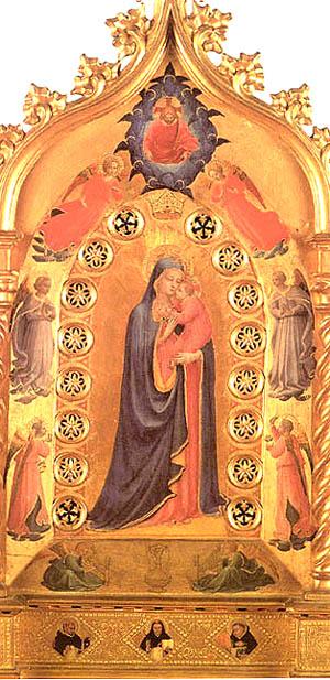 Madonna della Stella by Fra Angelico