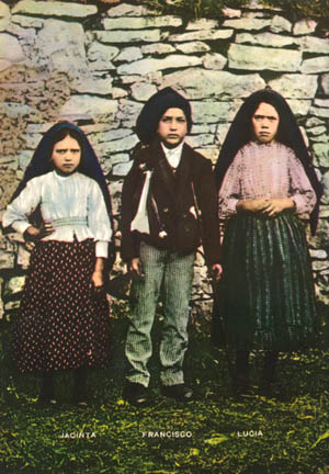 The three seer children of Fatima