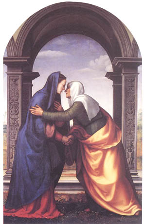 The Visitation, by Mariotto Albertinelli
