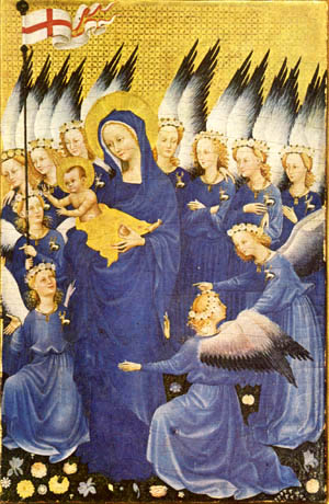 Our Lady of the Angels, the Wilton Diptych