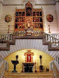 Side altar of Our Lady of Almudena