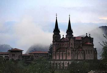 The Basilica of Our Lady of Covadonga