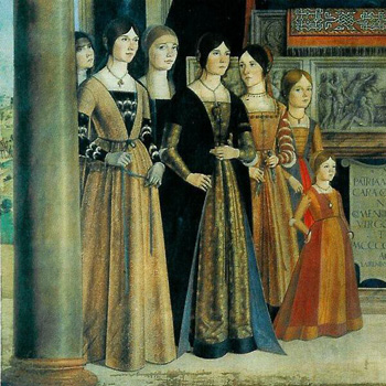 LAdies of Italian good society in the 15th century