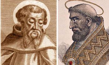 St Iranaeus and St. Leo