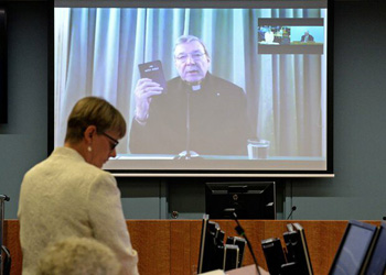 Card. George Pell hearing in Rome