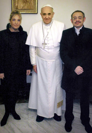 Francis receives transgender